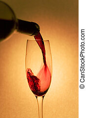 Pouring Red Wine - Pouring red wine shot with canon 300d and...
