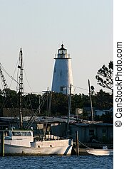 Ocracoke Lighthouse - ocracoke island lighthouse