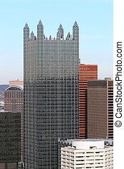 Glass Building - PPG Place from Mt Washington in Pittsburgh