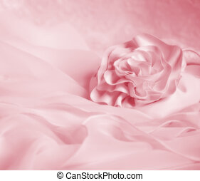 Valentine Wedding Background - Pink soft vignette wedding or...