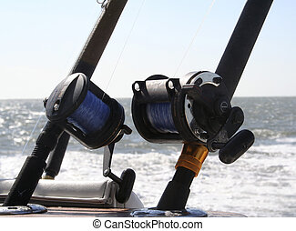 Reels - 2 Saltwater Fishing Reels