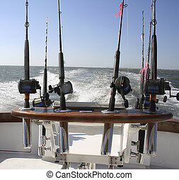 Reels - Group of Saltwater Fishing Reels