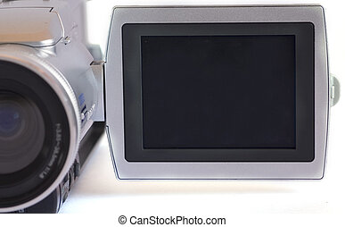 Blank LCD - Blank Isolated DV Cam LCD you can easily put any...