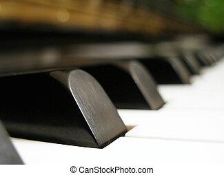 piano, - piano keys