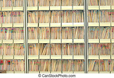 Files - Photo of a Medical Files