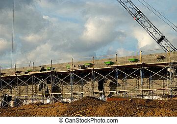 Construction Site - Poto of a Construction Site
