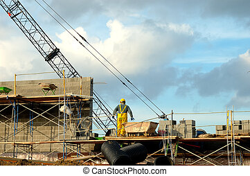 Construction Site - Photo of a Construction Site