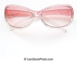 pink sunglasses 2 - glittery pink sunglasses