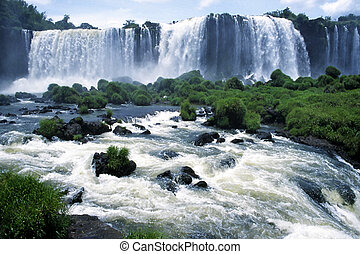 Iguacu - Waterfall in Brasil
