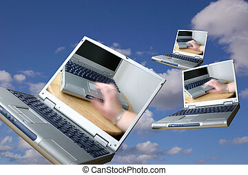 incoming laptops,mail being sent via email