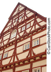 Halftimbered House - restored halftimbered house in Germany