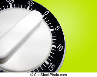 Timer - Basic Kitchen Timer on Green