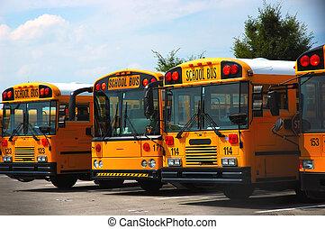 scuola, autobus