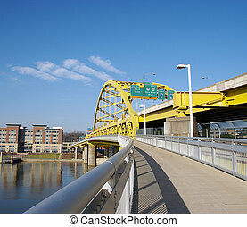 Pittsburgh Bridge - View of the Fort Duquesne Bridge From...