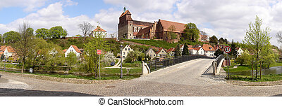old cathedral of Havelberg (Germany)