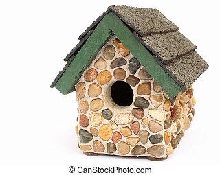 birdhouse - stone birdhouse