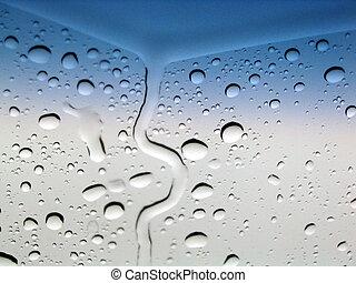 Abstract raindrops o