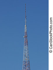 Communications Tower - Communications or cell tower with...