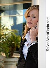 telefone, mulher, cansadas