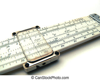 Slide Rule - Isolated Slide Rule