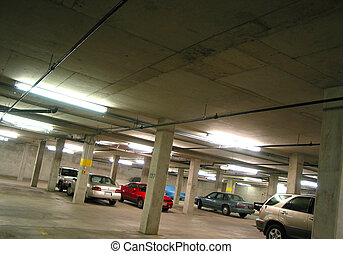 Underground parking - Underground parkng lot