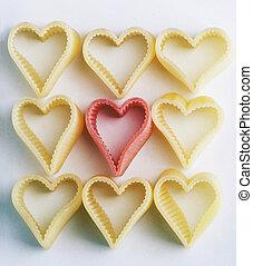 heart shaped noodles - herzfAtilde;para;rmige Nudelnheart...
