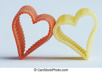 heart shaped noodle - herzförmige Nudelheart shaped noodle...