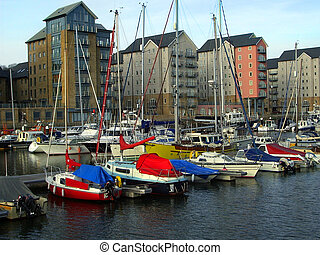 Quay overlooked - Apartments over looking the quay at...