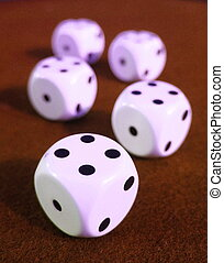 craps - dice