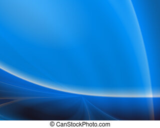 Abstract background - Blue abstract background