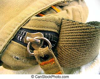 Old Messenger Bag - Beat-up, old messenger bag.