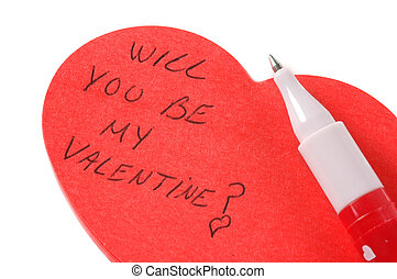 Will you be my Valentine - love