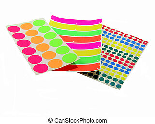 Colorfull Lables - , a group of colorfull lables