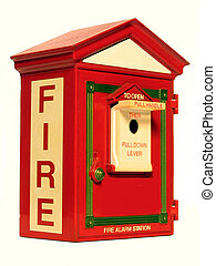 Fire Alarm Box - , a fire alarm box also commonly called a...