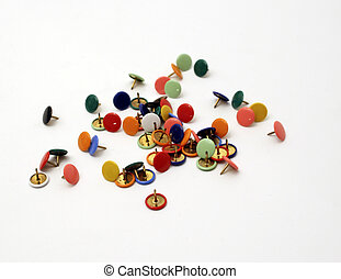 push pins - colourfull push pins