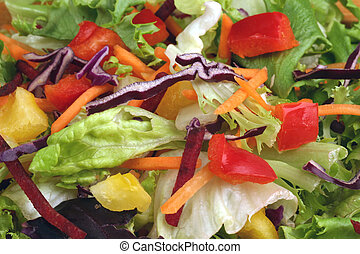 Pepper Salad - Tossed Pepper Salad