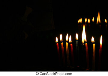Chanukah - Candles