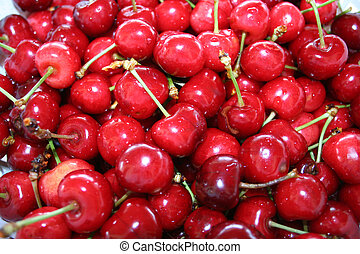 Cherries - Digital photo of cherries
