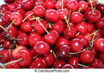 Cherries - Digital photo of cherries.