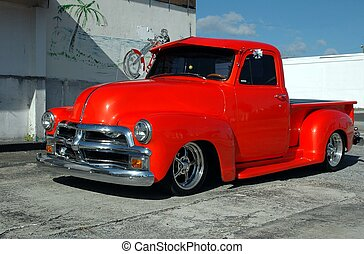 Custom Pickup Truck - Photographed a custom made pickup...