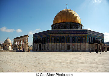 Dome of the Rock - Dome of the rock viewed from the temple...
