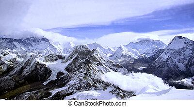 Himalayan Landscape - Typical Himalayan landscape