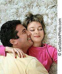 Sweet couple - Sweet young couple