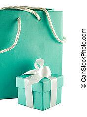 Present - Gift box and bag
