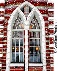 Palace window - A window detail of the Lesser Palace in...