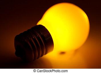 Light Bulb - Abstract Photo of a Light Bulb