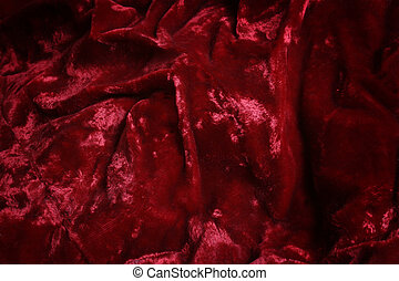 red velvet - crushed red velvet background