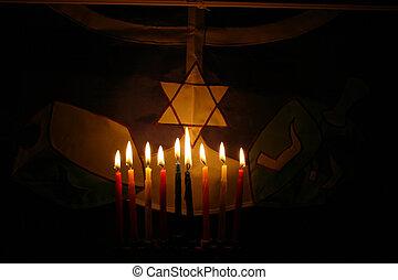 Hanukah - Candles.