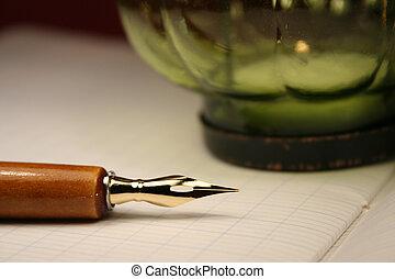 Fountain pen - A vintage fountain pen