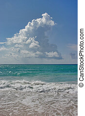 Cloud the King - Dover Beach, Barbados. Sept.